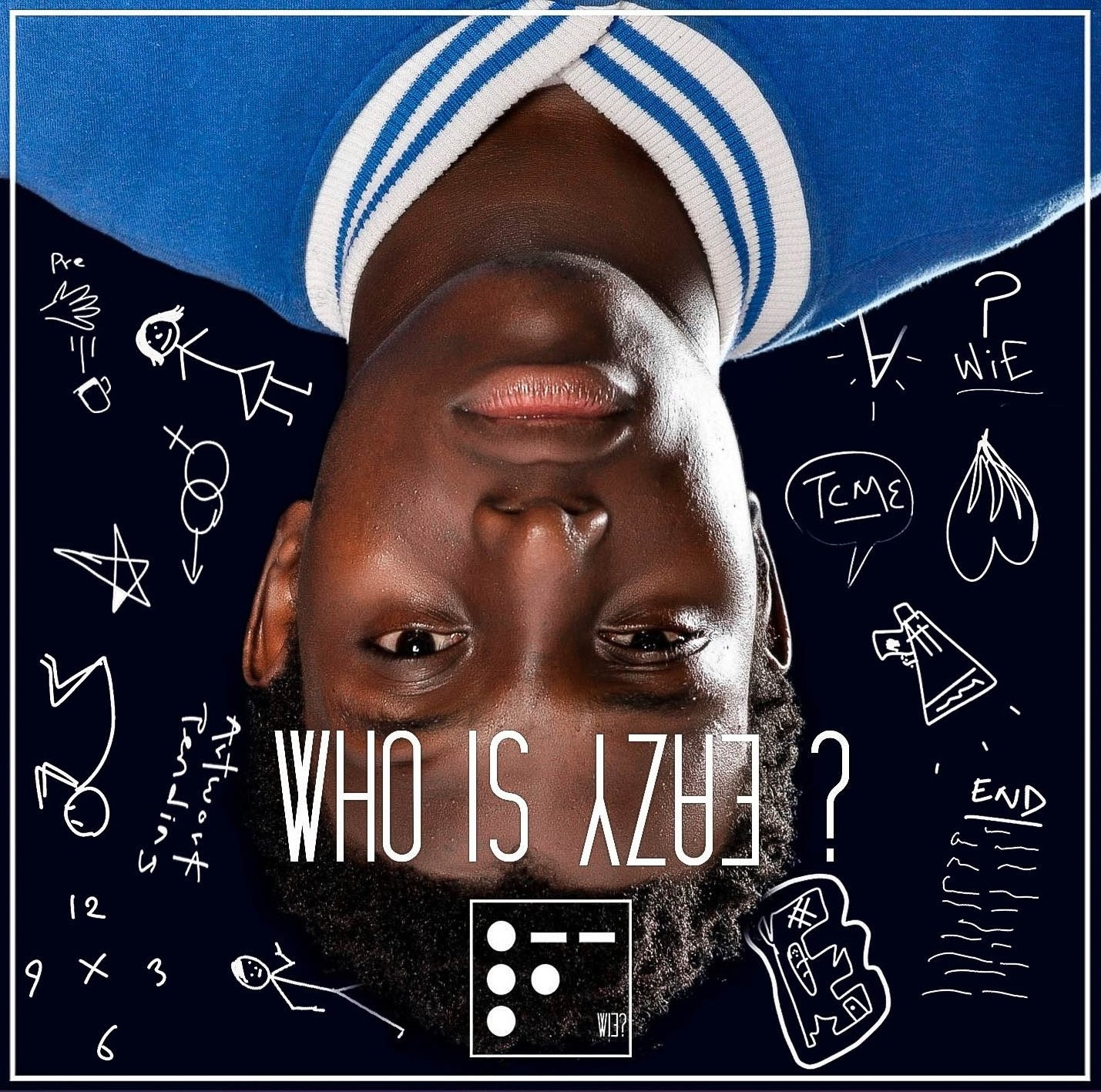 Cover art for Eazy Bob Wizzy's Who Is Eazy? album.